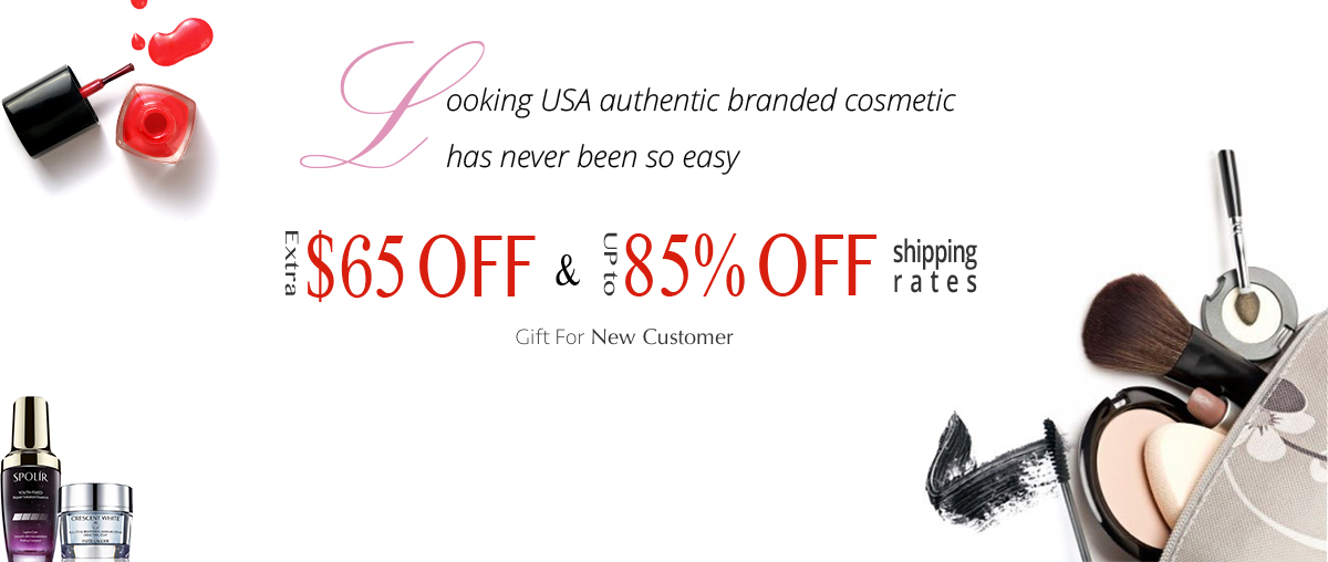 buy Authentic Branded Cosmetic from US online shopping