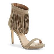 Steve Madden 'Staarz' Ankle Fringe Sandal (Women)