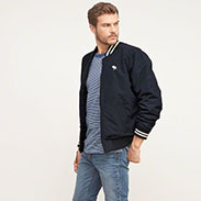 Abercrombie&Fitch ICONIC BASEBALL JACKET