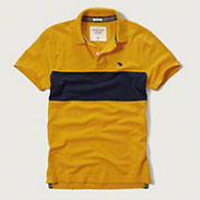 Abercrombie&Fitch CHEST STRIPE POLO