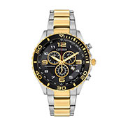 Citizen Men's Chronograph Eco-Drive Two-Tone Stainless Steel Bracelet Watch 43mm AT2124-51E - A Macy's Exclusive