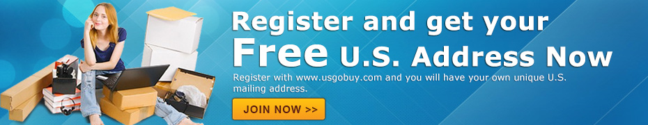 usgobuy parcel forwarder help online shopping Sony usa