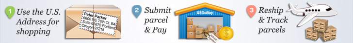 usgobuy parcel forwarder help online shopping Tumi usa