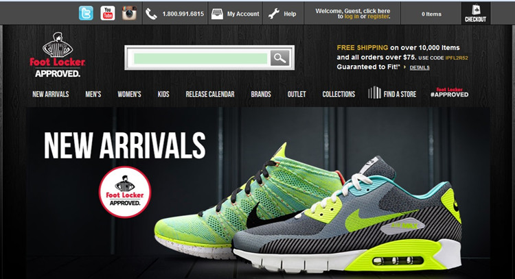 cross border shopping foot locker usa